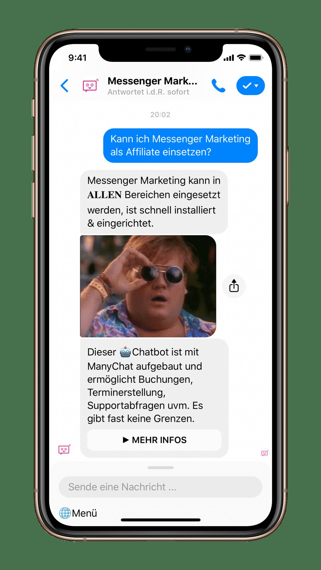 Einsatzmöglichkeiten für Chatbots